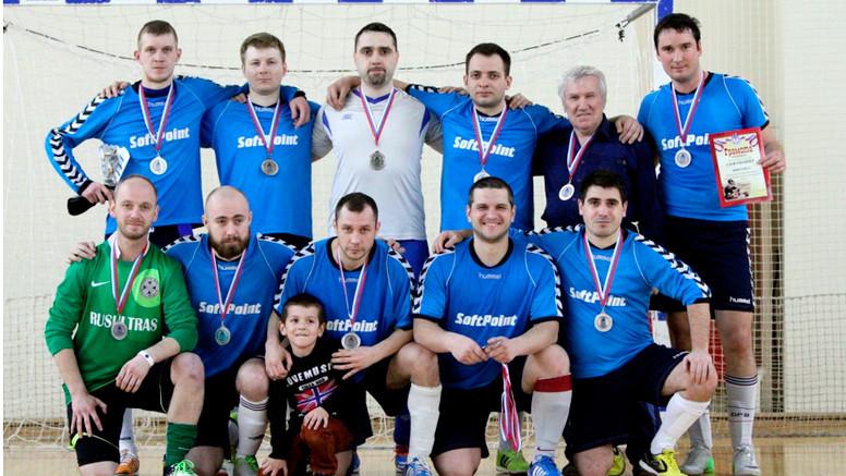 мини-футбольная команда СофтПоинт